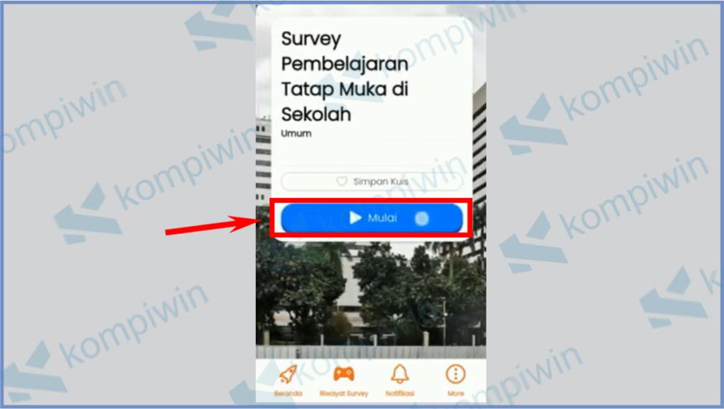 Aplikasi Survey PTM 7