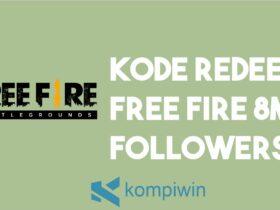 Buka Situs Reward FF Garena - Kode Redeem Free Fire 8M Followers
