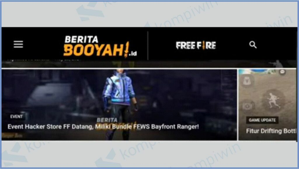 Kunjungi Event FFWS Boyfront Ranger - White Shadow Bundle FF