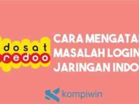 Masalah Login ke Jaringan Indosat