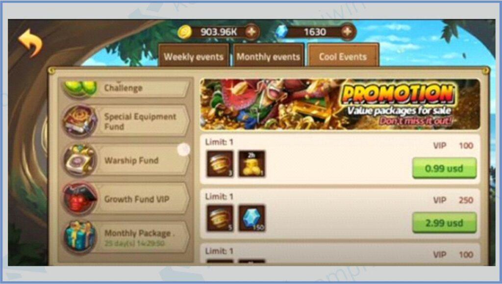 Masuk Ke Halaman Cool Events - Kode Redeem Epic Treasure Terbaru