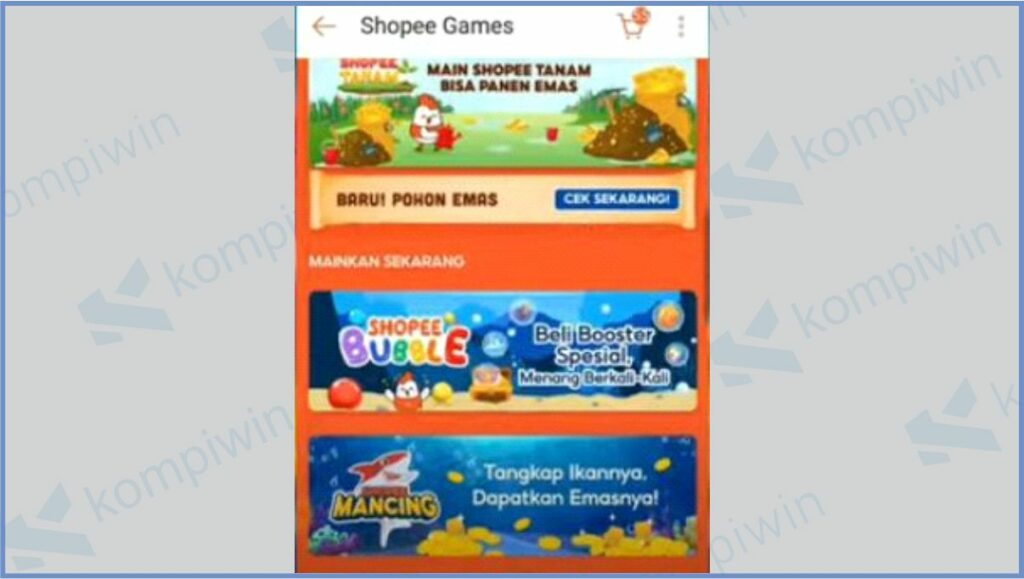 Masuk Ke Shopee Games - Cara Mancing Ikan Berhadiah di Shopee