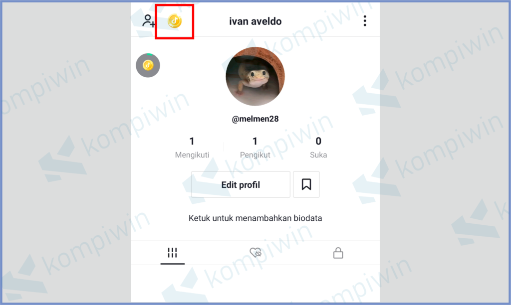 Tap Icon Emas
