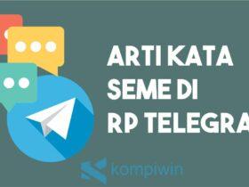 Arti Kata Seme Di Rp Telegram