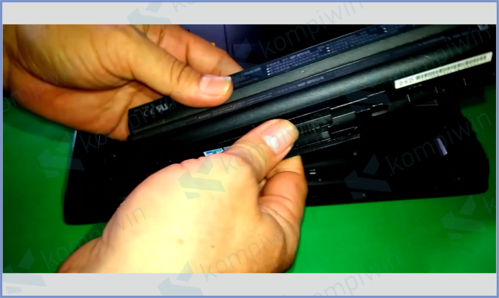 Baterai Laptop Rusak