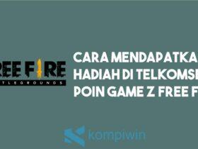 Cara Mendapatkan Hadiah di Telkomsel Poin Game Z Free Fire