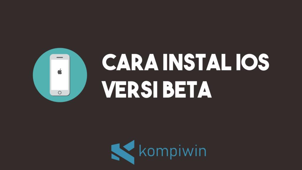 Cara Menggunakan iOS 14 Versi Public Beta 10