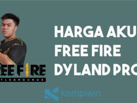 Harga Akun Free Fire Dyland Pros