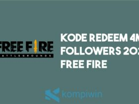 Kode Redeem 4M Followers 2021