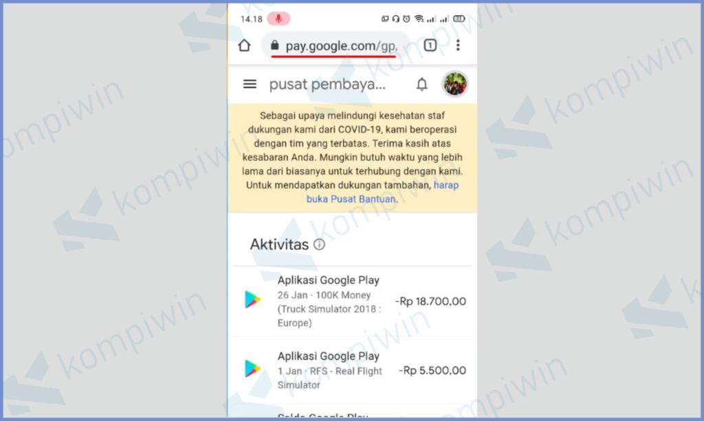 Cara Tukarkan Memindahkan Saldo Google Play Ke Pulsa