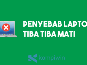 Penyebab Laptop Tiba-Tiba Mati 18