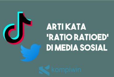 Arti 'Ratio Ratioed' Di Media Sosial