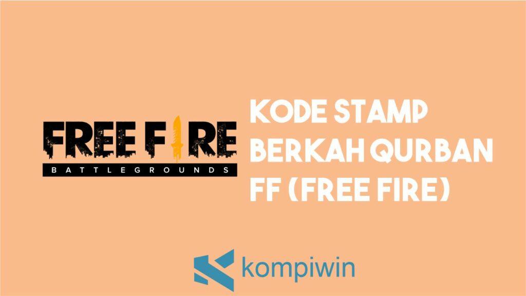 Kode Stamp Berkah Qurban FF (Free Fire)