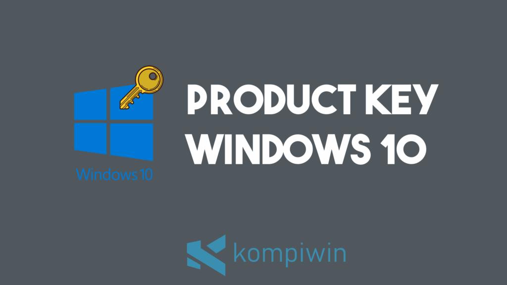 Product Key Windows 10 14